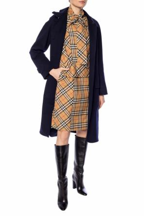 Cashmere coat with vents od Burberry